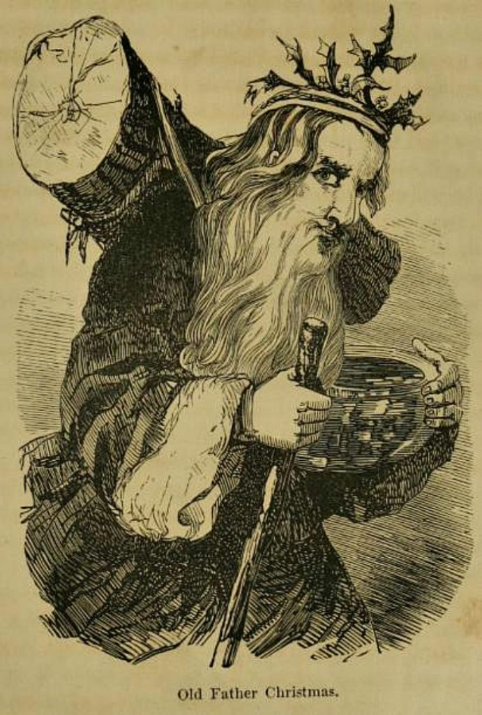 Father Christmas in Victorian Times