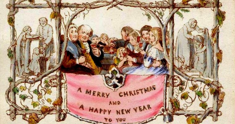 Victorian Style Christmas Cards